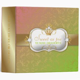 311-Ciao Bella Golden Divine Lollipop Fade Vinyl Binders