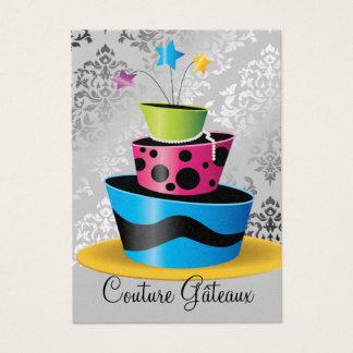311 Couture Gâteaux Multi Premium Pearl Paper Business Card