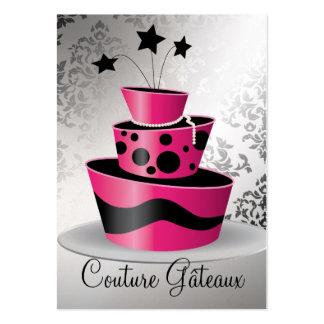 311 Couture Gâteaux Premium Pearl Paper Large Business Card