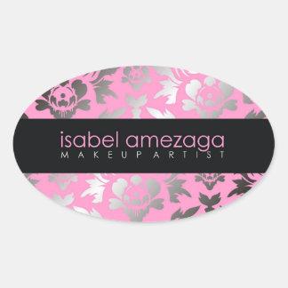 311-Custom Isabel Oval Sticker
