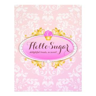 311 Customizable Hello Sugar Bakery Flyer Design