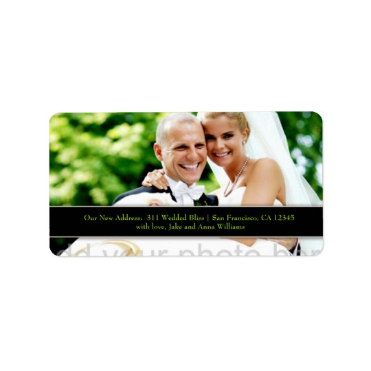 311 Customizable Newlywed Address Label