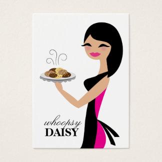 311 Daisy the Cookie Cutie Black Mid Length Hair Business Card