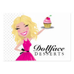 311 Dollface Desserts Blondie 3.5 x 2 Pack Of Chubby Business Cards