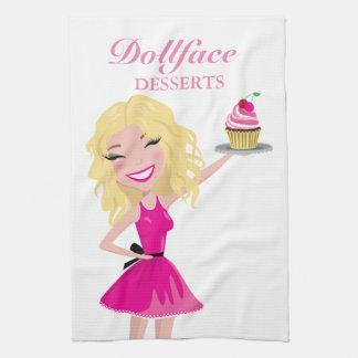 311 Dollface Desserts Blondie Kitchen Towel