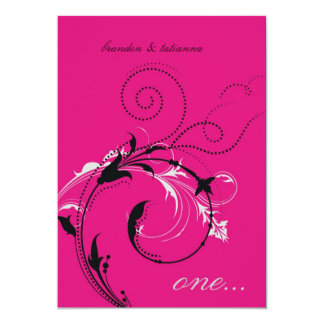 311-Dotted Desire |  Hott Pink Card