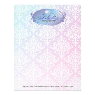 311-Dreamy Purple Delight Letterhead