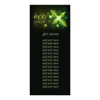 311 Eco Green Leaf Customized Rack Card