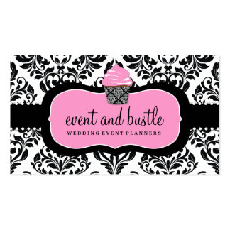 311 Event Bustle Cupcake Business Card Template