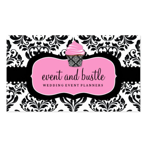 311 Event & Bustle Cupcake Business Card Template