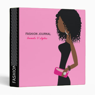 311-Fashionista | African American | Curly Hair Pi Binder