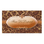 311 Fleur De Leopard Business Card