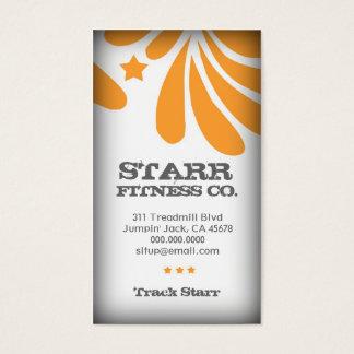 311  FRESHTASTIC ORANGE BUSINESS CARD