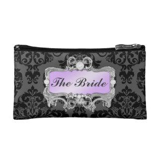 311 Glam Crazy Bride Lilac or DIY Clutch Makeup Bag