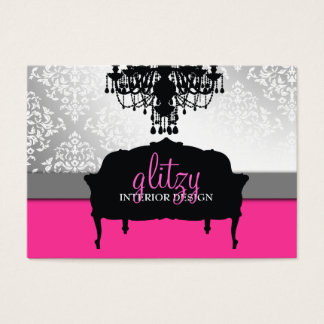311 Glitzy Boutique Interiors Business Card