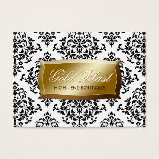 311-Gold Blast Damask Chubby Card