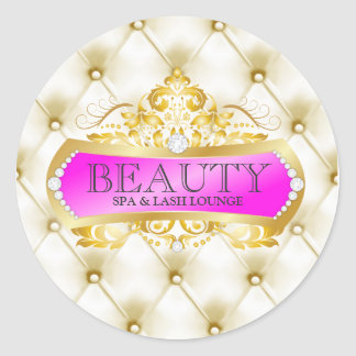 311 Golden Beauty Classic Round Sticker