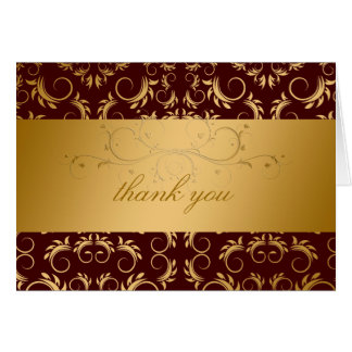 311-Golden diVine Chocolate Place Card