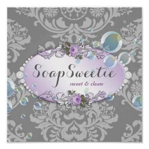311 Handmade Soap & Bubbles Print