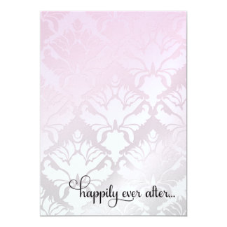 311 Happily Ever After Bridal Shower Pink Metallic Card