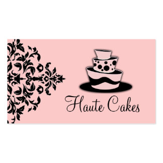 311-Icing on the Cake 3 Tier Business Card