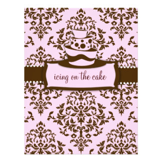 311 Icing on the Cake Baby Pink Topsy Turvy Flyer Design