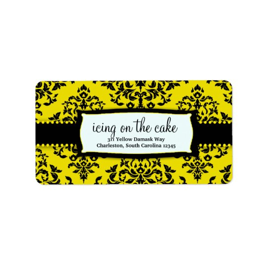 311-Icing on the Cake - Bee Address Label