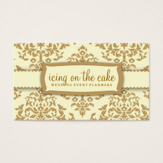 311 Icing on the Cake Buttercream Business Card