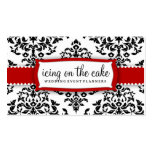 311-Icing on the Cake - Cherry Frosting Business Card Template