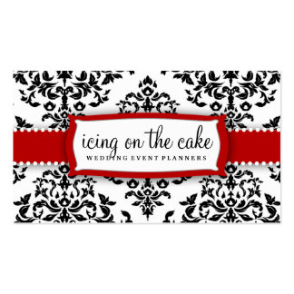 311 Icing on the Cake Cherry Frosting Pack Of Standard Business Cards