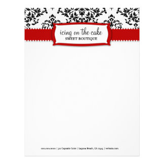 311 Icing on the Cake Cherry Letterhead