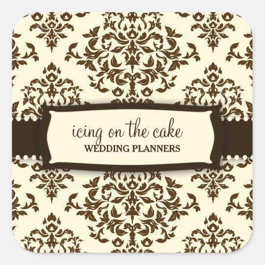 311 Icing on the Cake Chocolate cream Sticker