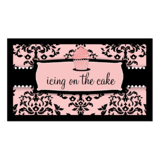 311 Icing on the Cake Cupcake Sweet Icing Pink Pack Of Standard Business Cards