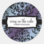 311 Icing on the Cake Hydrangea Round Sticker