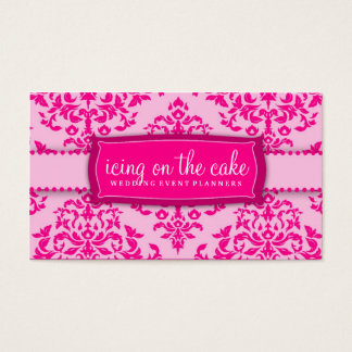 311 Icing on the Cake Pink Business Card