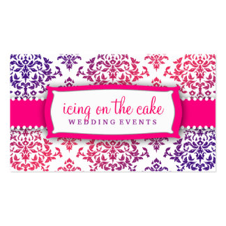 311 Icing on the Cake Pink Lavender Business Card