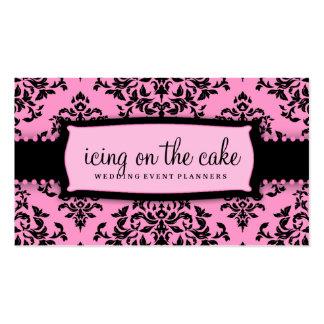 311 Icing on the Cake Pink Liquorice Customizabl Business Card