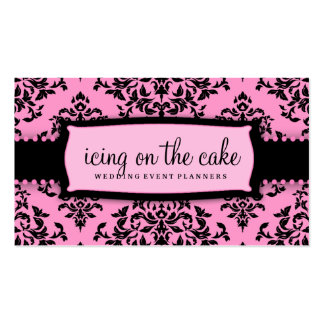 311 Icing on the Cake Pink Liquorice Customizabl Pack Of Standard Business Cards