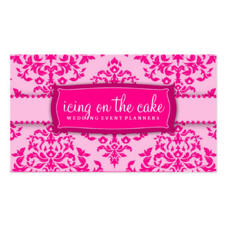311 Icing on the Cake Pink Pack Of Standard Business Cards