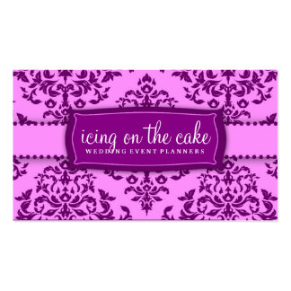 311 Icing on the Cake Purple Business Card