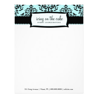 311 Icing on the Cake Something Blue Letterhead
