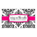 311 Icing on the Cake - Strawberry Frosting Business Card Template