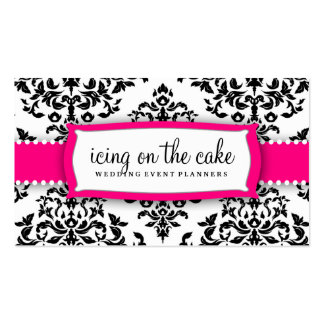 311 Icing on the Cake Strawberry Frosting Double-Sided Standard Business Cards (Pack Of 100)