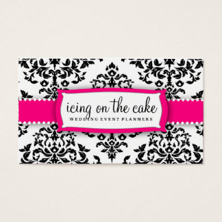 311 Icing on the Cake Strawberry Frosting White Business Card