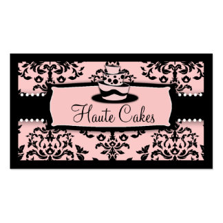 311-Icing on the Cake Tier - Sweet Icing Pink Business Card