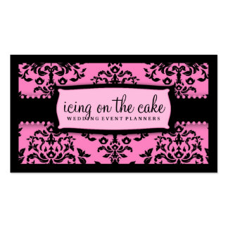 311 Icing on the Cake Too Pink Liquorice Business Card