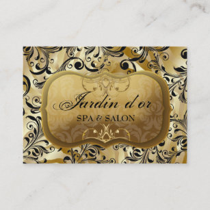 311-Jardin d\'or with Zebra Appointment Card