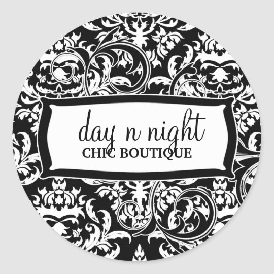 311-Julianna Day n Night Classic Round Sticker