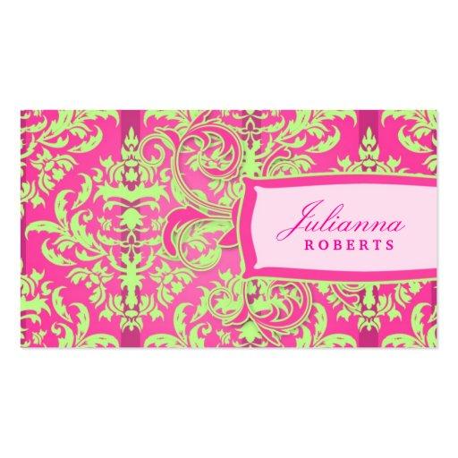 311-Julianna succulent chaulent et dentellent la d Modèles De Cartes De Visite