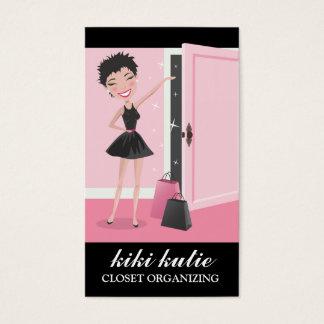 311 Kiki Cutie Open Door Shopping Gift Bags Business Card